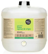 Australian Lime Spray & Wipe - 15 litres Bulk