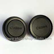 Fotolux Camera Body & Lens Rear Cap- Canon