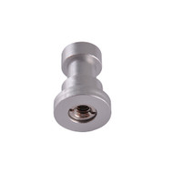 "Fotolux 3/8"" Female Thread to Stud FLH-04 (with 3/8"" to 1/4"" Thread Adapter)"