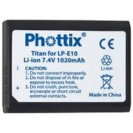 Phottix LP-E10 Battery for Canon EOS 1100D