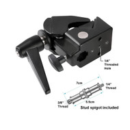 """Nicefoto Super Clamp (1/4"""" Thread) with Spigot for Ball Head and Lighting B-01"""