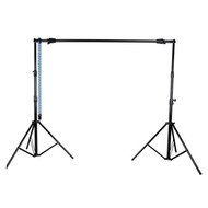 Nicefoto S-12 Studio Background Support Kit with manual chain (3.2m wide x 2.6m tall)