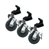 Nicefoto Light Stand 3 Roller Wheels Kit 22mm Diameter
