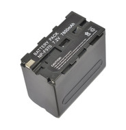 Fotolux NP-F970 ( Large size ) 7800mAh Li-on Rechargeable Battery for LED Lights , LCD Monitors