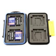 Memory Card Case MC-3 4xCF 4xSD 4xXD 4xPro Duo