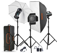 Godox 3x GS400 Studio Flash Kit GS400-D