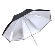 """Fotolux 40"""" Black and Silver Umbrella Reflector"""
