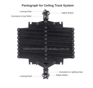 Fotolux Studio Background Support Pantograph for Ceiling Rail System