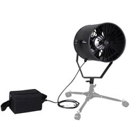 Fotolux Professional Outdoor Fan (Hair Blower) with Battery Power Pack SF-06