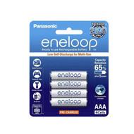 Panasonic eneloop AAA Rechargable Batteries 800mAh White pack 4pcs