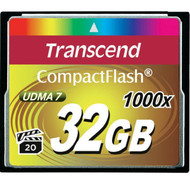 Transcend Ultimate 1000x 32GB Compact Flash CF Memory Card