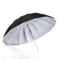 "Nicefoto 60"" (153cm) Black/ Silver Umbrella"