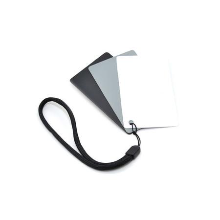JJC Pocket-Sized Grey Card Set- Mini (13 x 10cm)