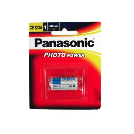 Panasonic Lithium Battery 3V CR123A (CR123 CR17345)