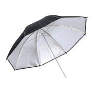 """Fotolux 40"""" (102cm) Black and Silver Umbrella Reflector (Thick)"""