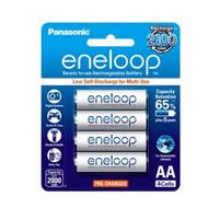 Panasonic eneloop AA Rechargable Batteries 2000mAh White pack 4pcs