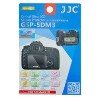 JJC Ultra-Thin Optical Glass LCD Screen Protector GSP-5DM3 for Canon 5DIII 5DS 5DSR (Adhesive)
