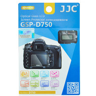 JJC Ultra-Thin Optical Glass LCD Screen Protector GSP-D750 for Nikon D750 (Adhesive)