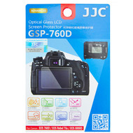 JJC Ultra-Thin Optical Glass LCD Screen Protector GSP-760D for Canon 760D, Rebel T6s, 8000D (Adhesive)