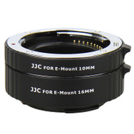 JJC 2 Ring Auto-Focus AF Macro Extension Tube for Sony E Mount