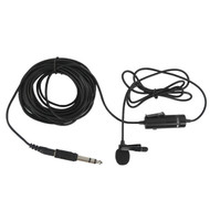JJC Lavalier Microphone SGM-38 for Camcorder (Wired, External, Omidirectional)