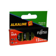 Fujitsu Alkaline Battery G Series AAA 12 Pack LR03G/BP12
