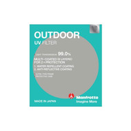 Manfrotto 62mm OUTDOOR UV Filter 599262M