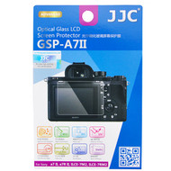 JJC Ultra-Thin Optical Glass LCD Screen Protector GSP-A7II for Sony A7SII A7II A7RII ILCE-7M2 ILCE-7RM2 (Adhesive)