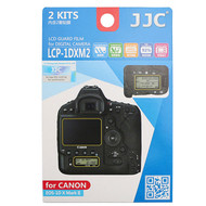 JJC LCD Guard Film Screen Protector LCP-1DXM2 for Canon EOS 1DX Mark II (Adhesive)