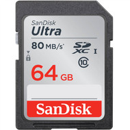 SanDisk Ultra 533X 64GB SDXC SD Memory Card