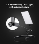 Nanlite CN-T96 18W Video LED Light with Mini Shooting Bracket Stand (5600K)
