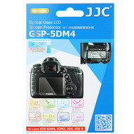 JJC Ultra-Thin Optical Glass LCD Screen Protector GSP-5DM4 for Canon 5DM4 5DM3 5DS 5DSR (Adhesive)