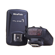 Nicefoto Wireless Flash Remote TTL Trigger 2.4G for Canon TTL-316C