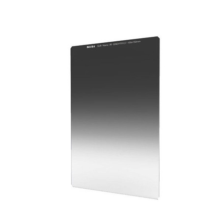 Nisi 100 x 150mm Square Filter Nano IR Z-Series Soft Graduated GND8 (0.9) Neutral Density ND Filter (Optical Glass)