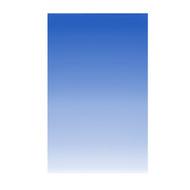 Fotolux 1m x 1.5m Graduated Sky Blue to White Backdrop Paper