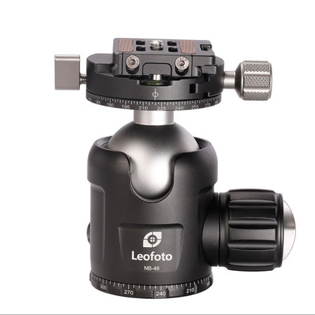 Leofoto Pro Ball Head with Panning Clamp NB-46 (Double-Action)