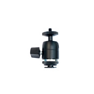 "Fotolux Mini Ball Head with 1/4"" Male Thread and Cold Shoe FMH03"