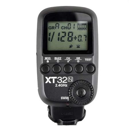 Godox TTL Wireless Flash Trigger for Nikon (XT32N, 2.4G)