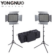 Yongnuo 2x YN600LII 3200-5500K Video LED Lighting Kit