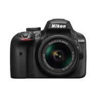 Nikon D3400 DSLR Camera and Nikkor AF-P DX 18-55mm F3.5-5.6 VR Lens Kit (Imported Version)