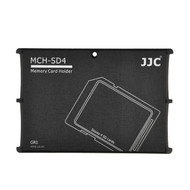 JJC MCH-SD4 Slim Card Case for 4 x SD Cards