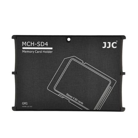 JJC MCH-SD4 Slim Card Case for 4 x SD Cards