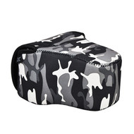 JJC Camera Pouch OC-MC for Small DSLR and Mirrorless Camera (Camouflage Grey)