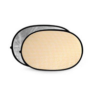 Godox 2 in 1 Collapsible Reflector 100 x 150 cm (Silver + Soft Gold)