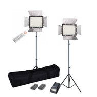 Yongnuo Video LED Light YN-300III x2 3200-5500K Video Lighting Kit
