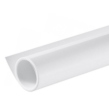 Fotolux 60 x 130 cm White Gloss PVC Photographic Background Sheet (High Key)