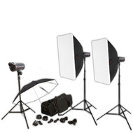 Jinbei Spark III 400 x2 Studio Flash Lighting Kit
