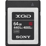 Sony 64GB 440MB/s 2933X XQD G-Series Memory Card
