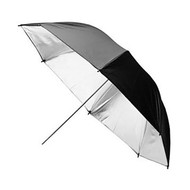 """Jinbei 60"""" (150cm) Umbrella Black & Silver"""
