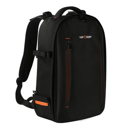 K&F Concept Light Weight DSLR Camera Backpack KF13.037 (Large , Black)